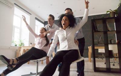 Les animations d'équipes au service de la mobilité physique en entreprise