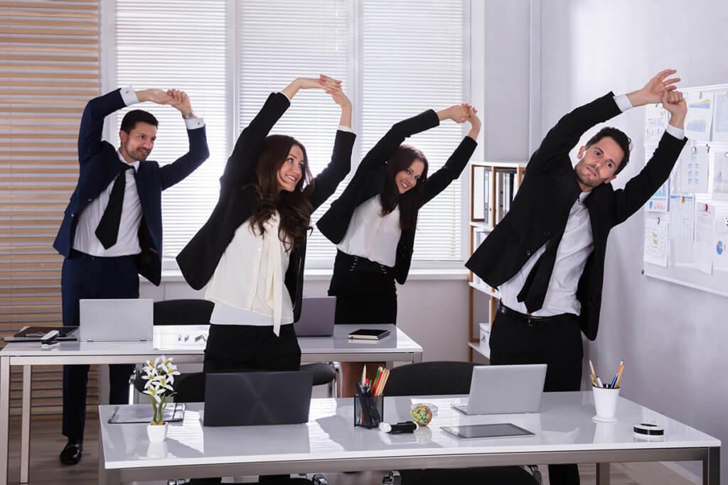 La lutte contre la sédentarité au bureau