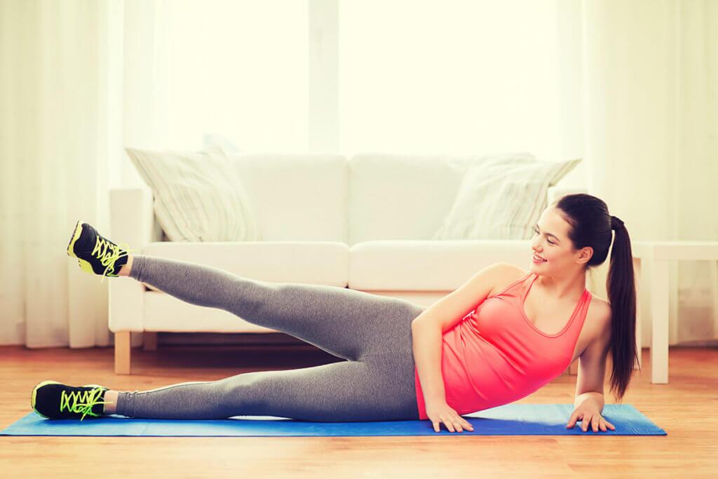L'activité physique à la maison