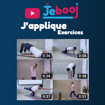 Jebooj vous propose des exercices simples pour entretenir votre santé au quotidien.